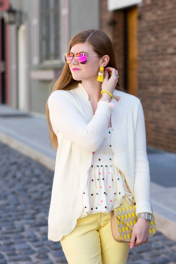 Two Bees Cashmere sweater featured by top London fashion blog, Mollie Moore
