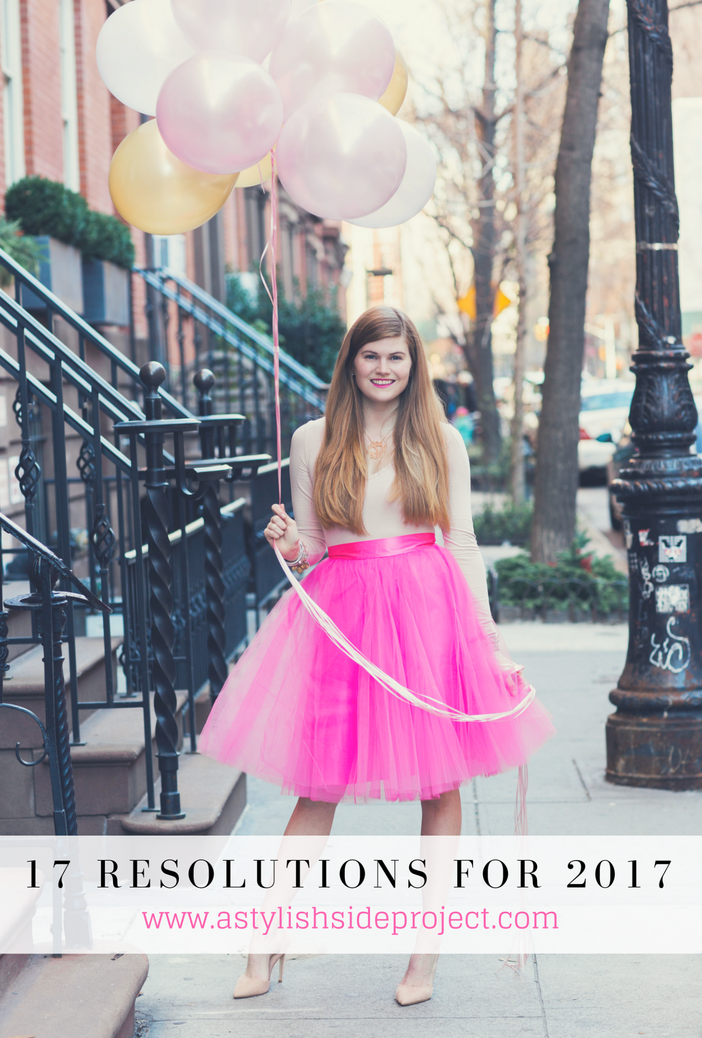 Lifestyle blogger Mollie Sheperdson shares her 2017 resolutions