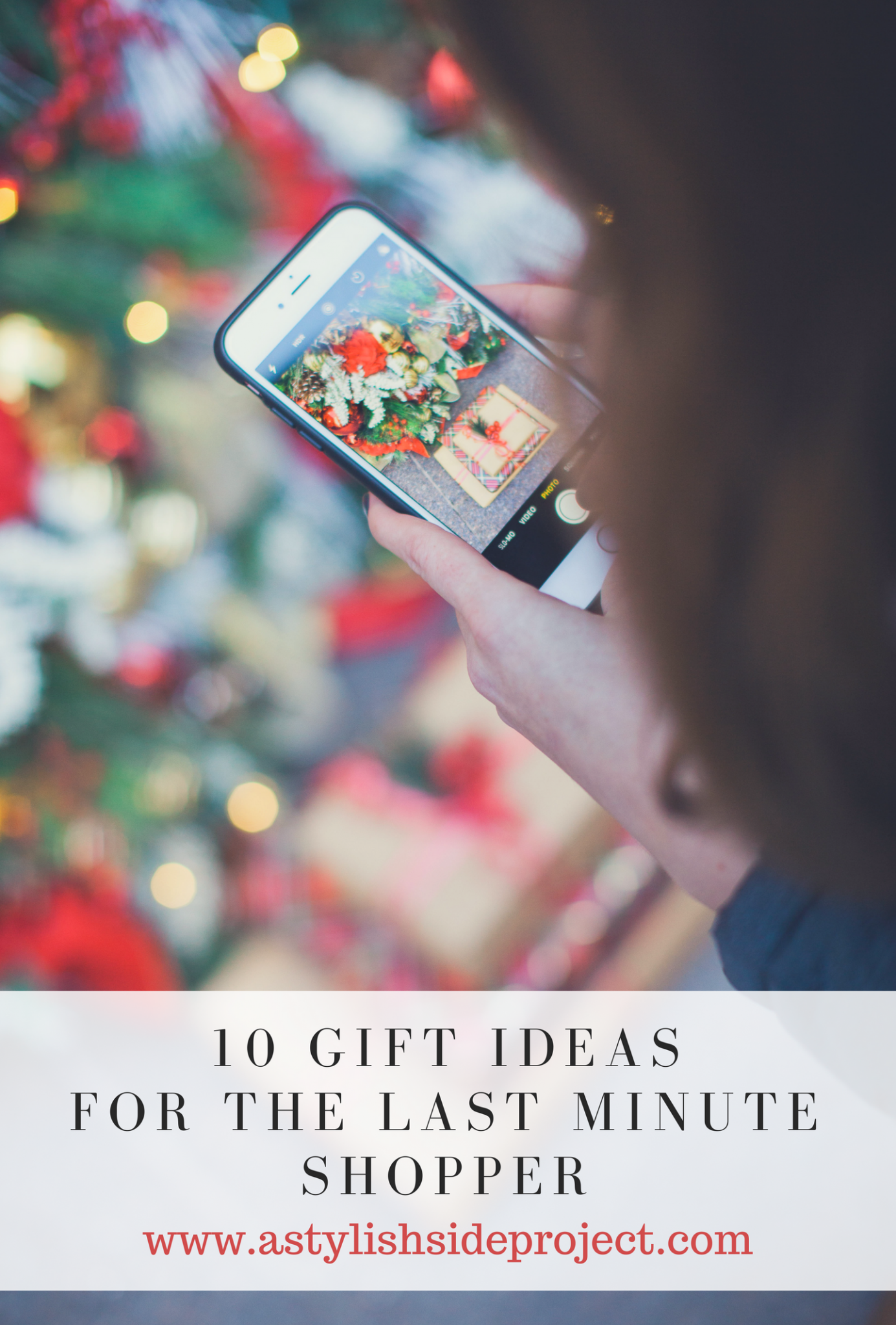 Lifestyle blogger Mollie Sheperdson shares her top 10 last minute gifts