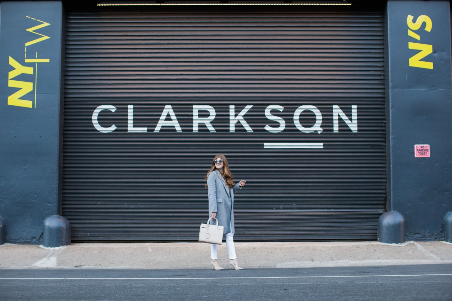 Lifestyle blogger Mollie Sheperdson shares her first look of New York Fashion Week