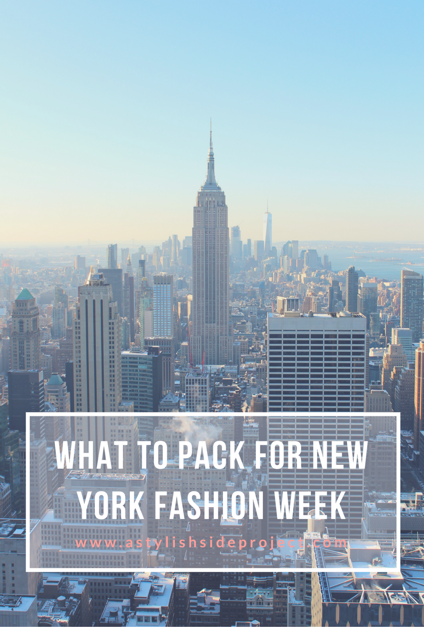 Lifestyle blogger Mollie Sheperdson shares her tips on what to pack in your bag for New York Fashion Week