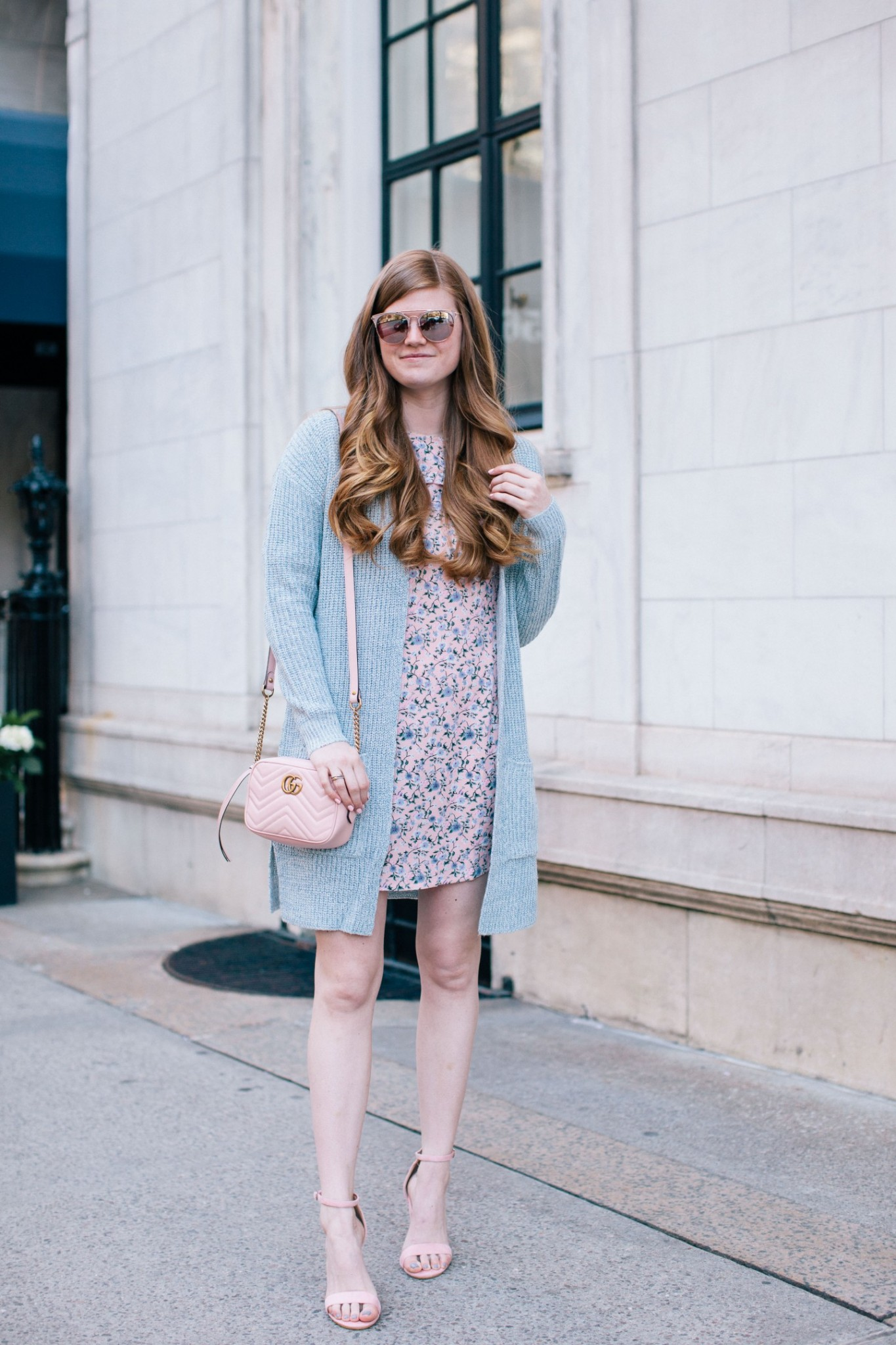 Lifestyle blogger Mollie Sheperdson shares a spring look with Boohoo