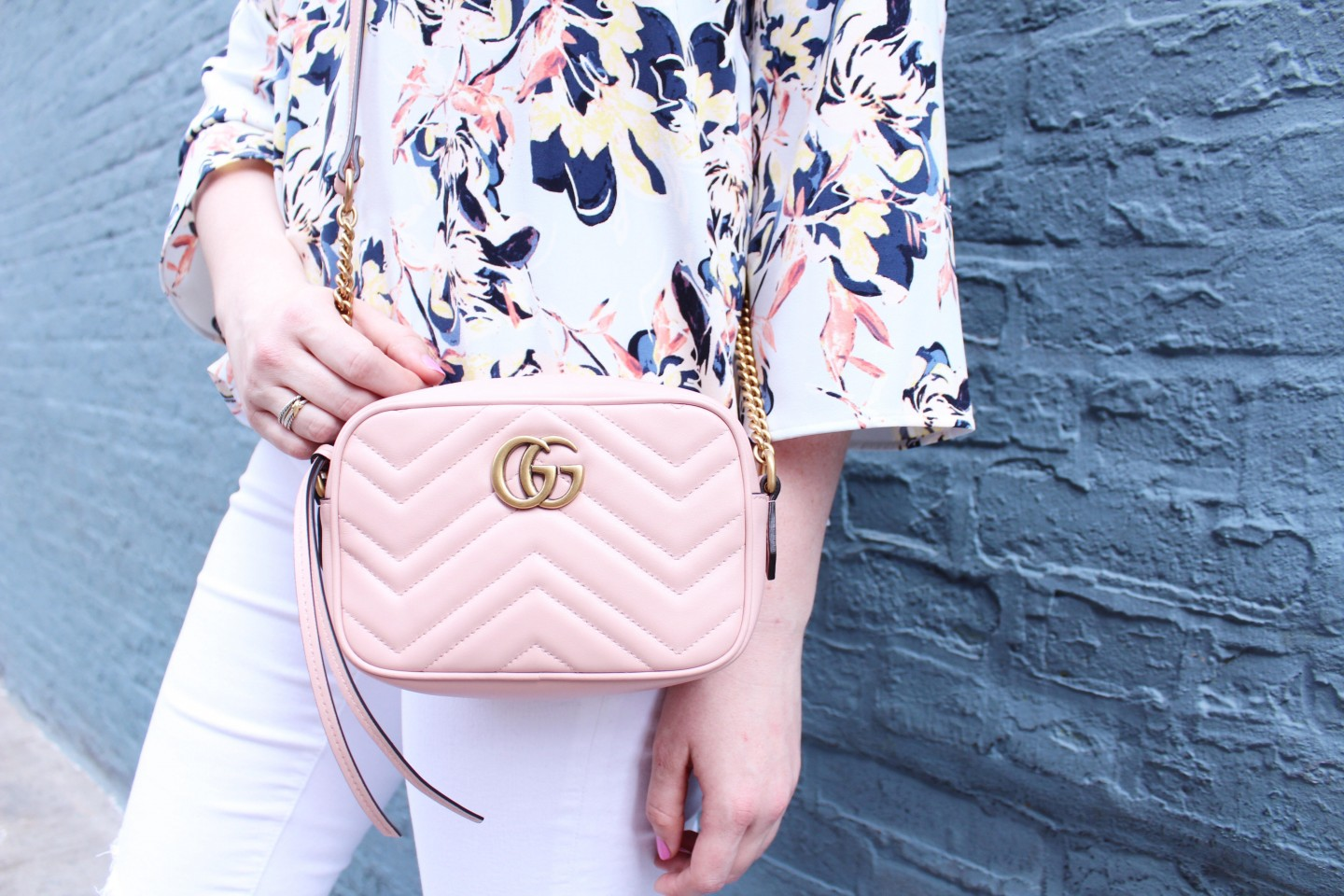 Popular London Life and style blogger Mollie Sheperdson styles the new blush Tieks