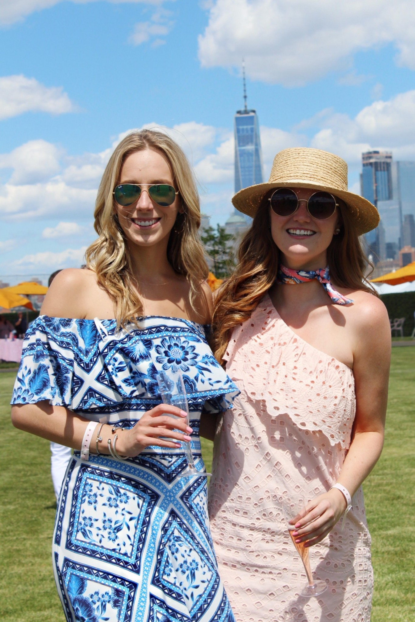 Lifestyle blogger Mollie Sheperdson attends the 10th anniversary Vevue Clicquot Polo Classic