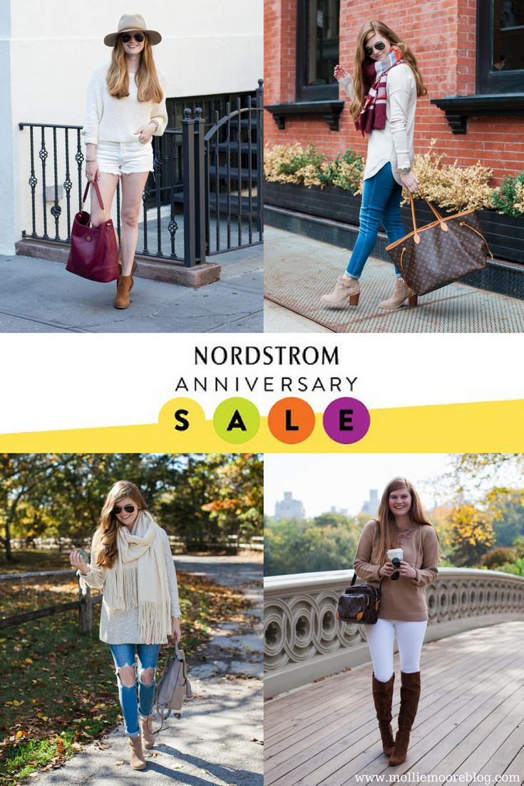 Lifestyle blogger Mollie Moore shares what she purchased from the 2017 Nordstrom Anniversary Sale