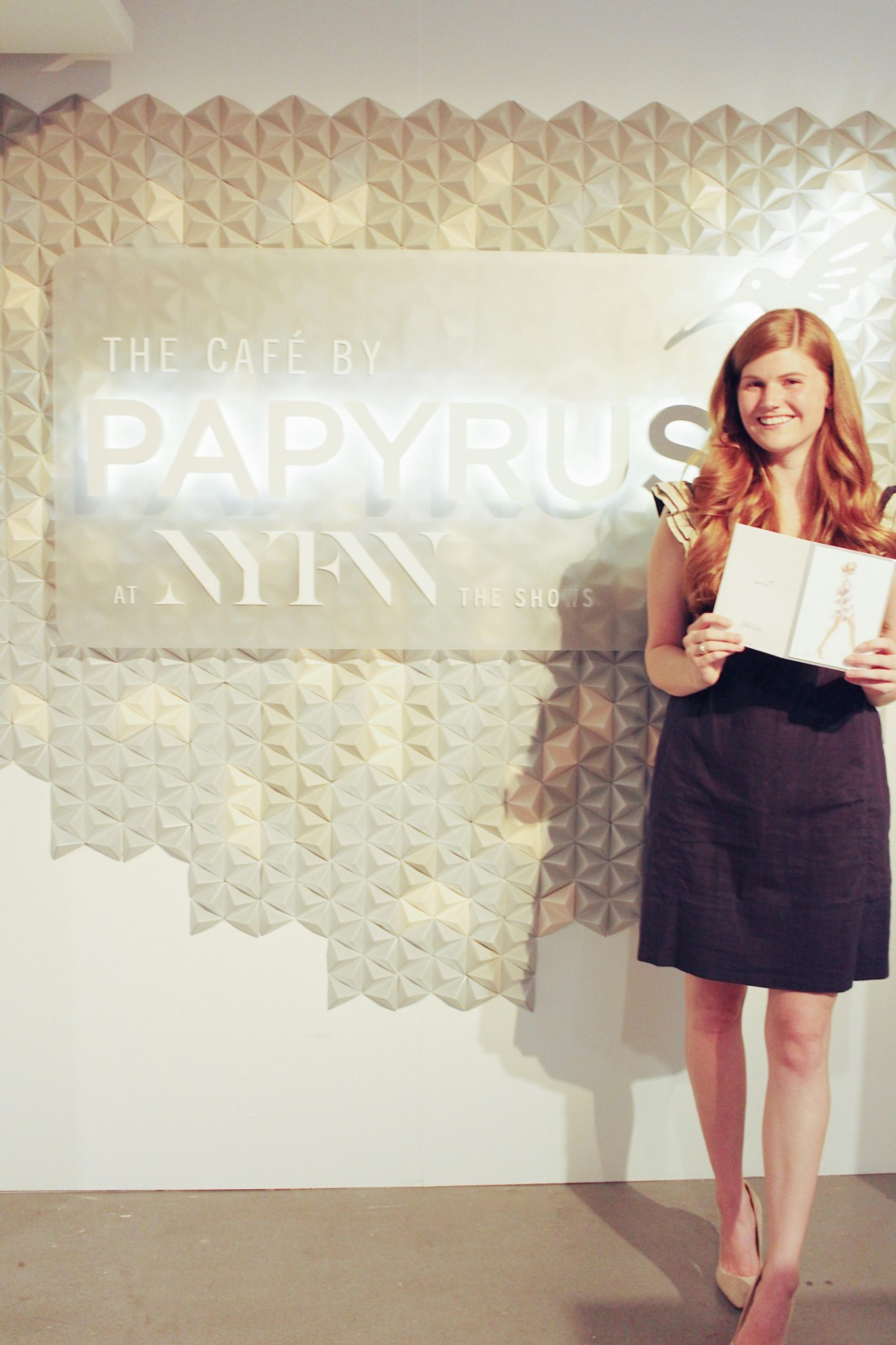Lifestyle blogger Mollie Moore shares the Papyrus NYFW Collection