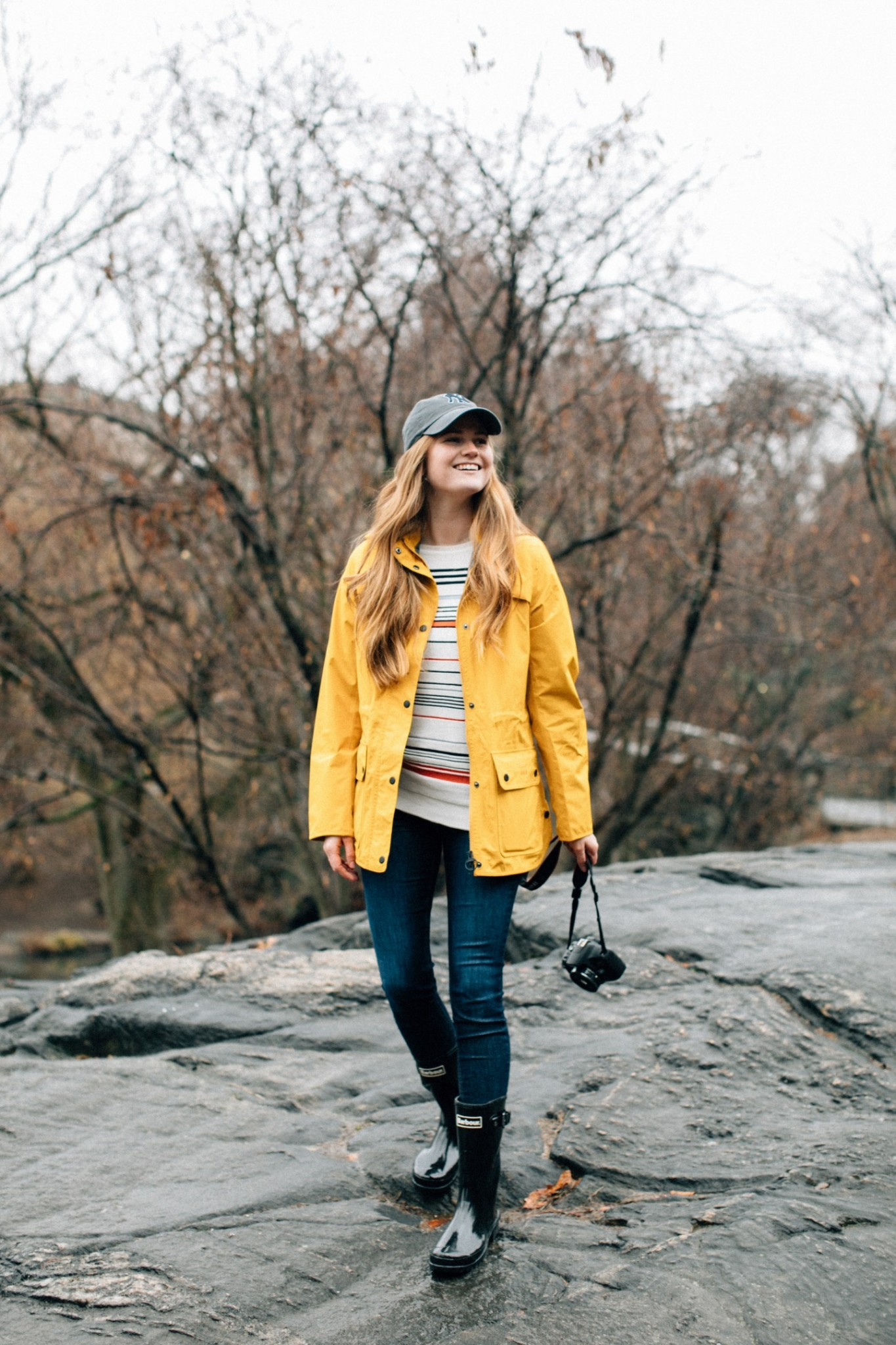 Lifestyle blogger Mollie Moore shares the new Weather Comfort Collection from Barbour | The new Barbour Weather Comfort Collection featured by top London fashion blog, Mollie Moore: the Barometer Jacket