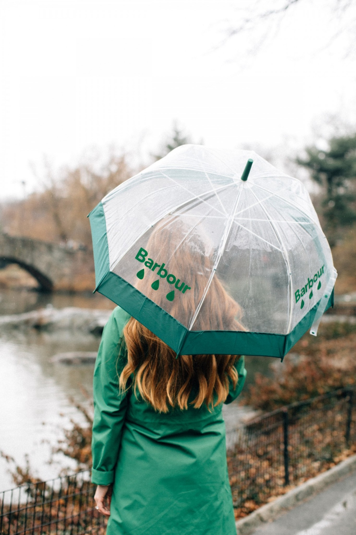 Lifestyle blogger Mollie Moore shares the new Weather Comfort Collection from Barbour | The new Barbour Weather Comfort Collection featured by top London fashion blog, Mollie Moore: the Sleet Jacket