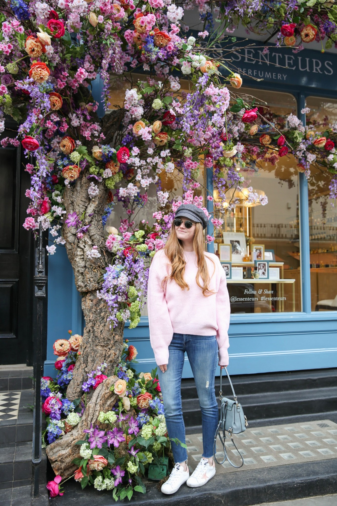Lifestyle blogger Mollie Moore shares her favorite spring hats