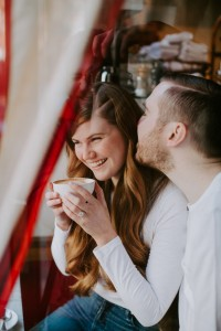 Mollie Moore shares a few engagement photos shot in NYC