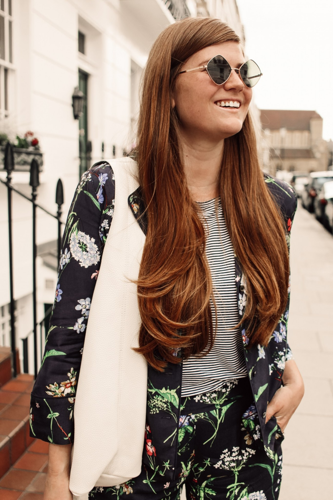 Lifestyle blogger Mollie Moore shares an outfit from Hobbs London | London Chic with Hobbs Covent Garden featured by top London fashion blog, Mollie Moore