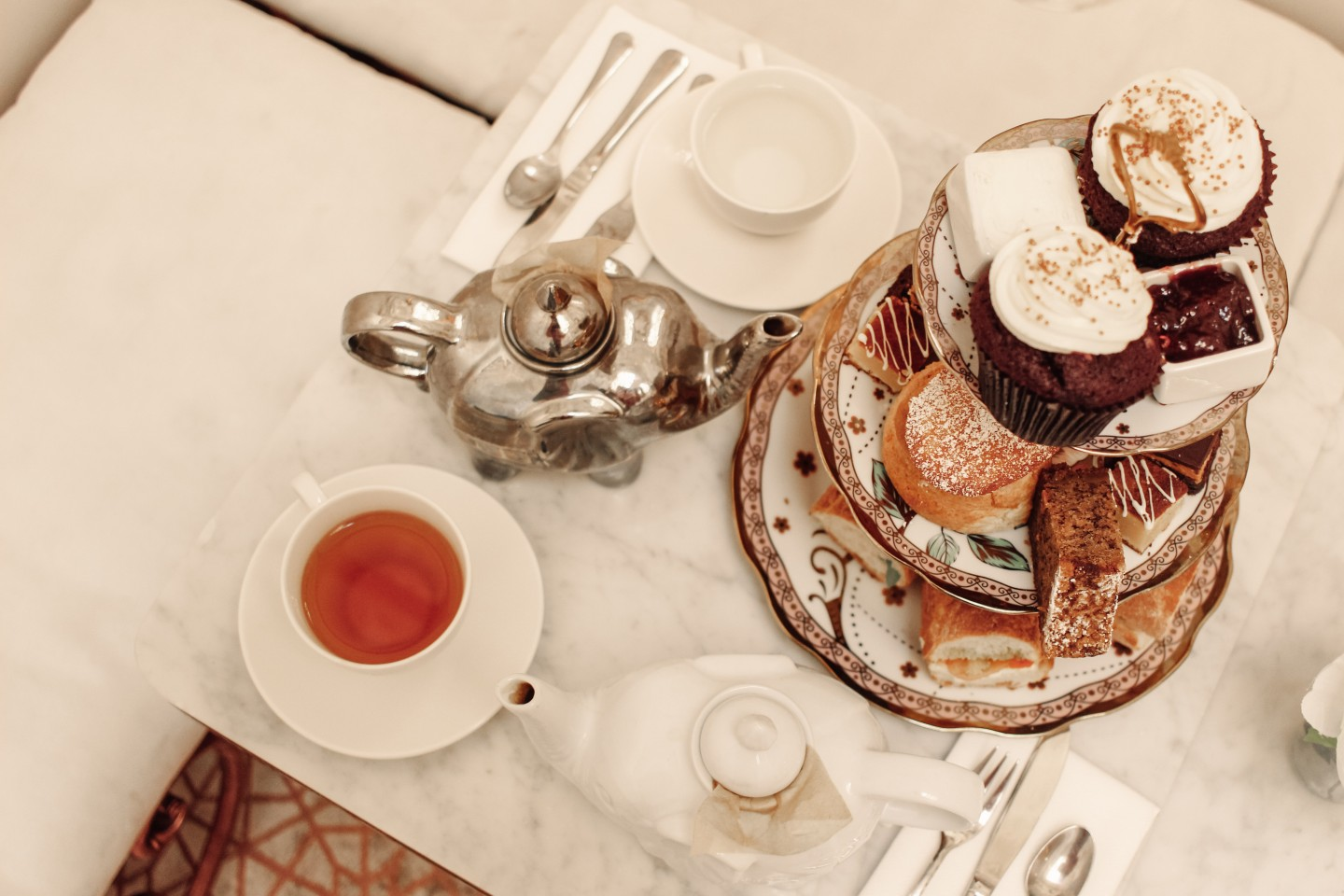 Lifestyle blogger shares a review of afternoon tea at Butterscotch London | Butterscotch London Afternoon Tea featured by top London blogger, Mollie Moore