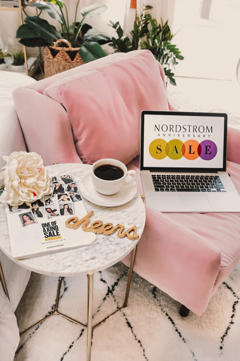 Lifestyle blogger Mollie Moore shares a sneak peek at what she bought in the Nordstrom Anniversary Sale