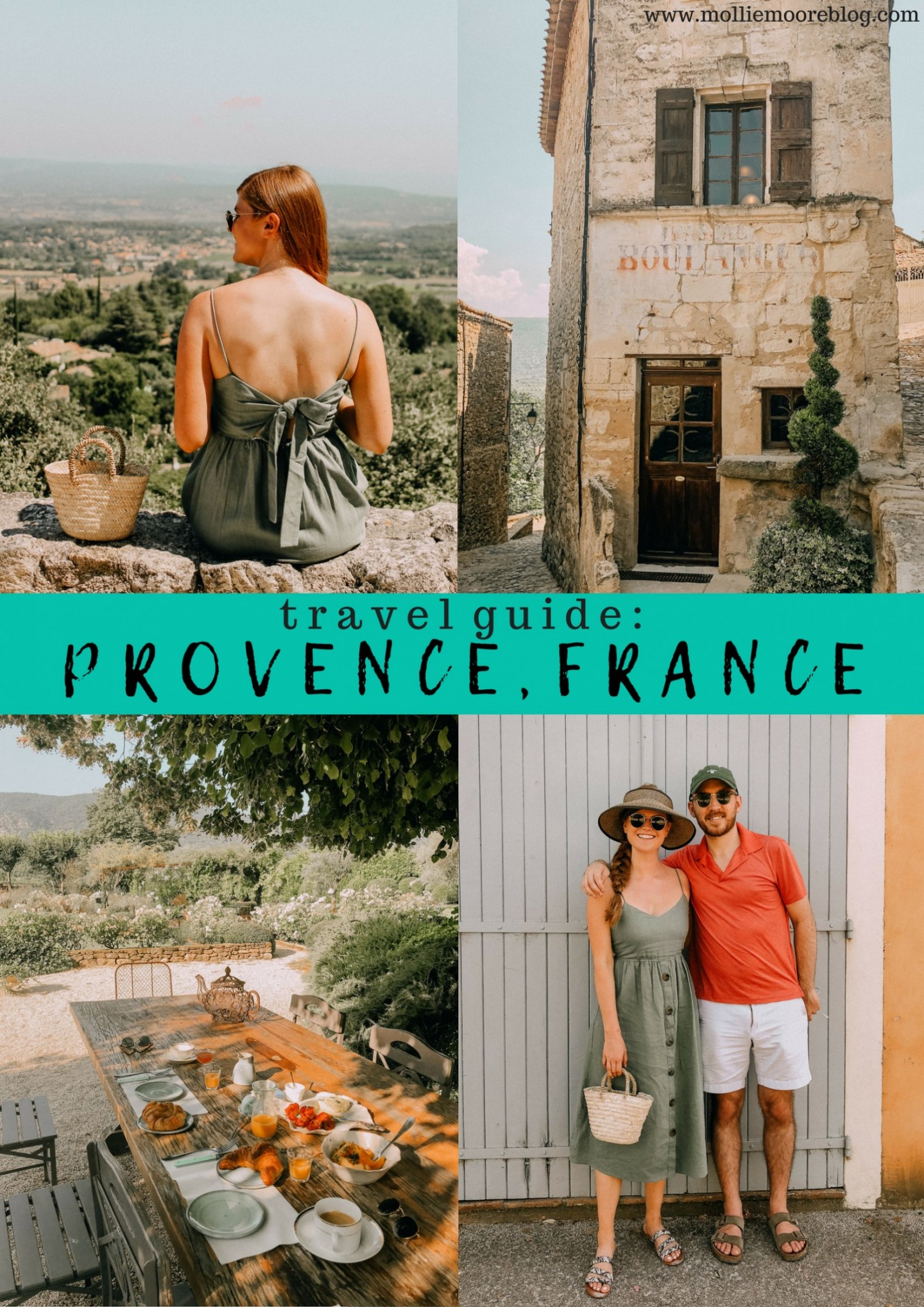 Lifestyle blogger Mollie Moore shares her Provence travel guide