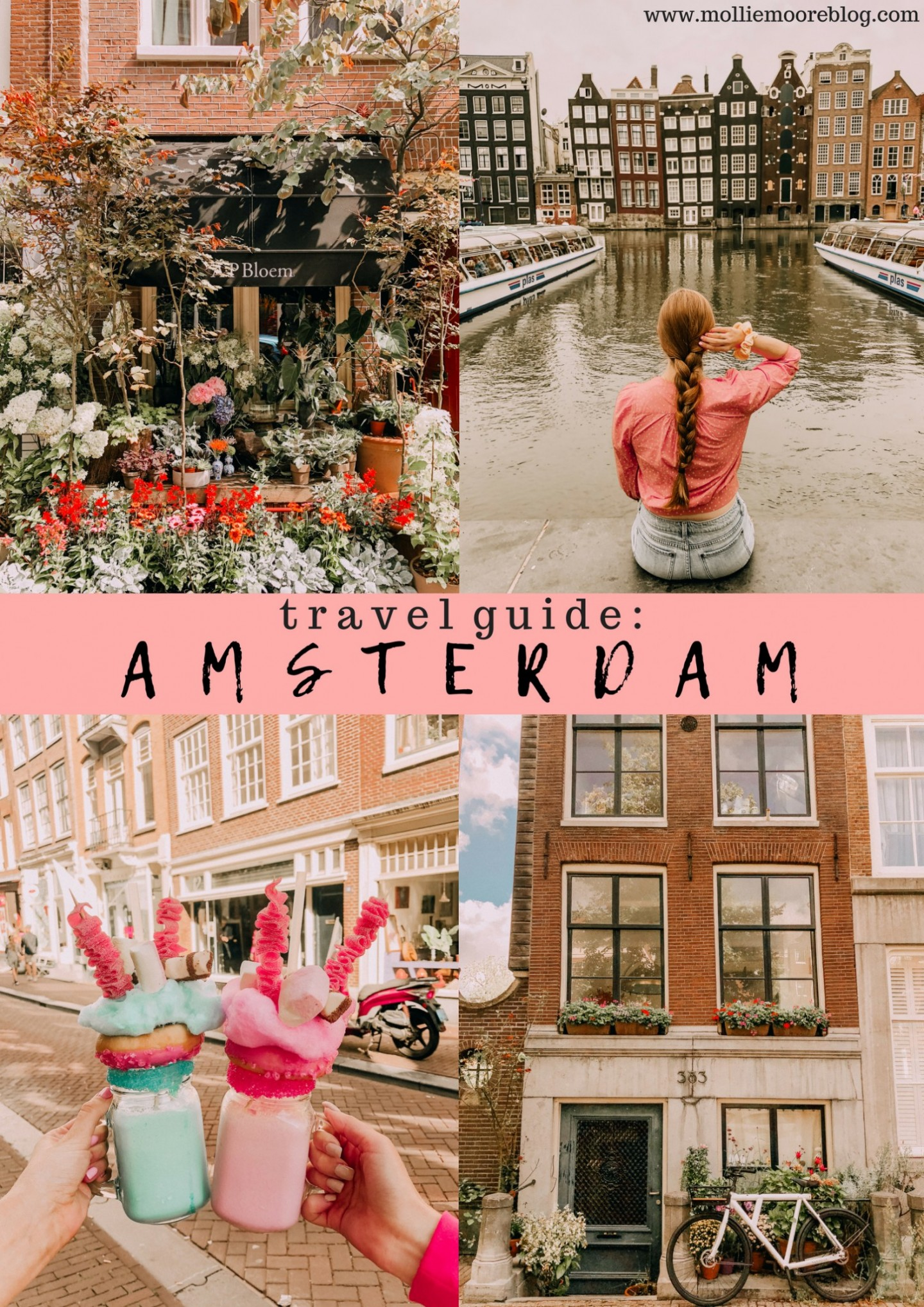 Popular London travel blogger Mollie Moore shares fun things to do in Amsterdam