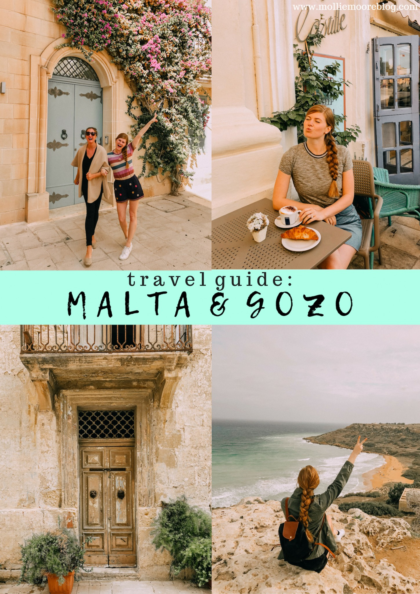 Lifestyle blogger Mollie Moore shares her Malta Travel Guide