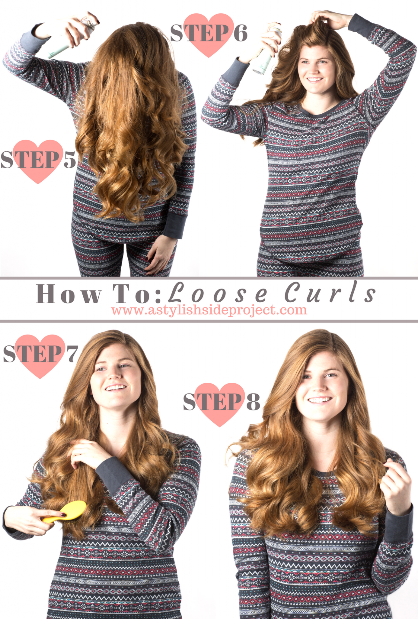 Lifestyle blogger Mollie Sheperdson shares how she gets her everyday loose curls in this detailed hair tutorial! | How to Get Loose Curls hair tutorial featured by popular London life and style blogger, Mollie Moore