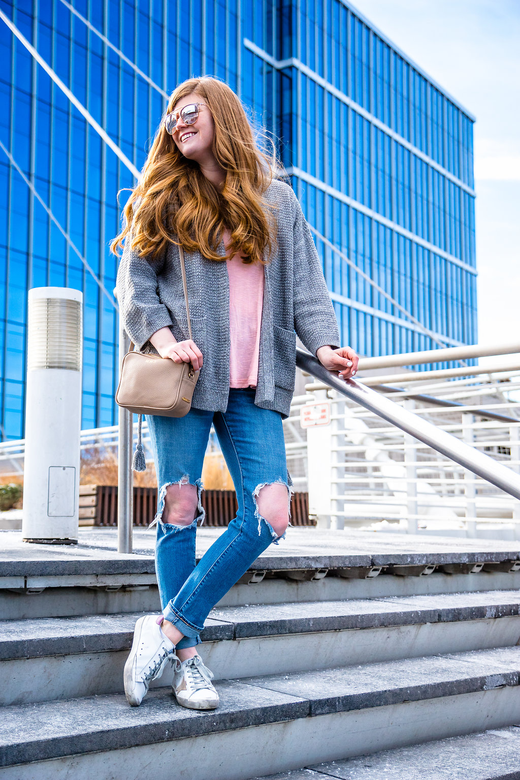 Lifestyle blogger Mollie Sheperson shares a laid back look in Denver