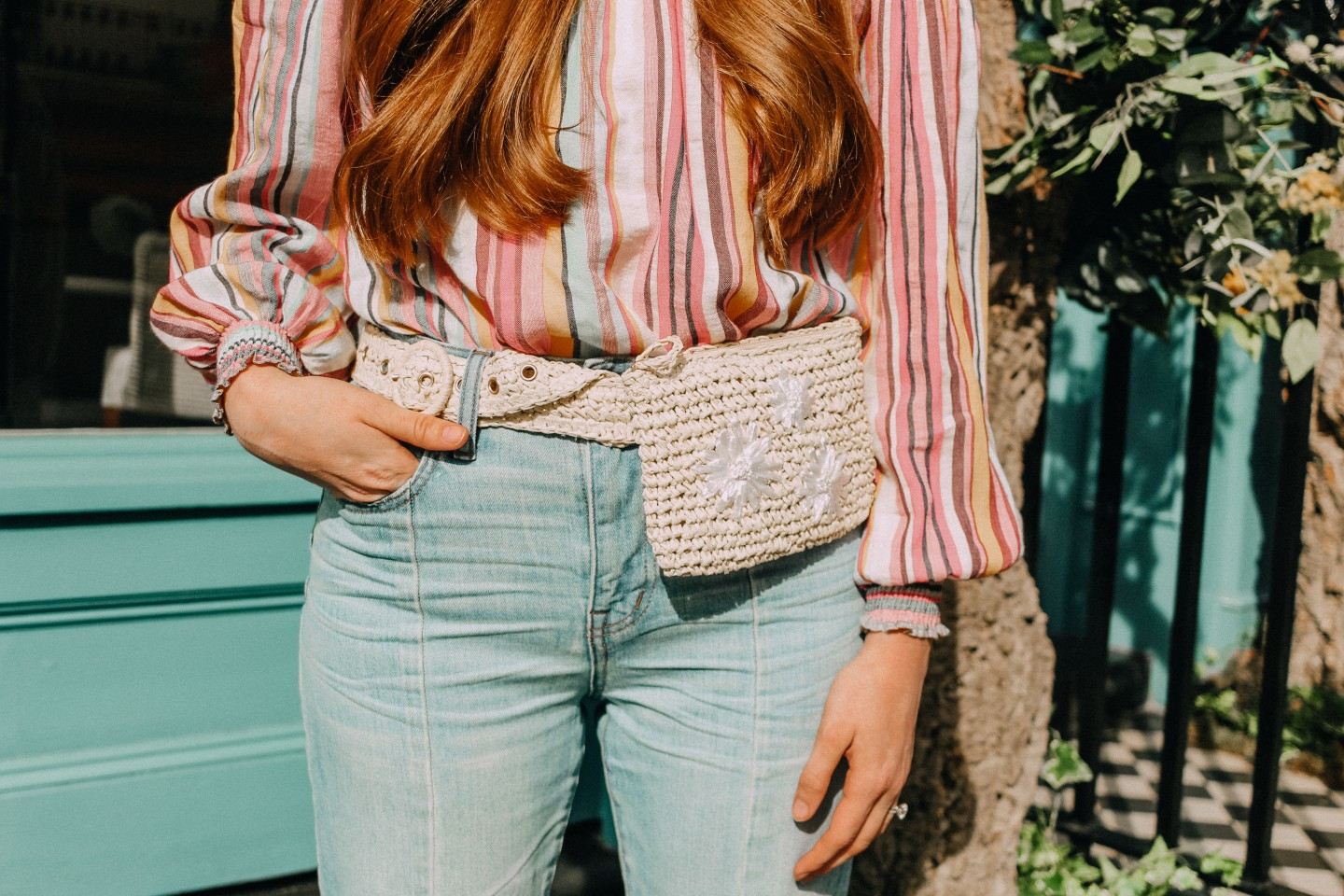Lifestyle blogger Mollie Moore shares tips on how to style a belt bag | How to Wear a Fanny Pack tips featured by top London fashion blog. Mollie Moore