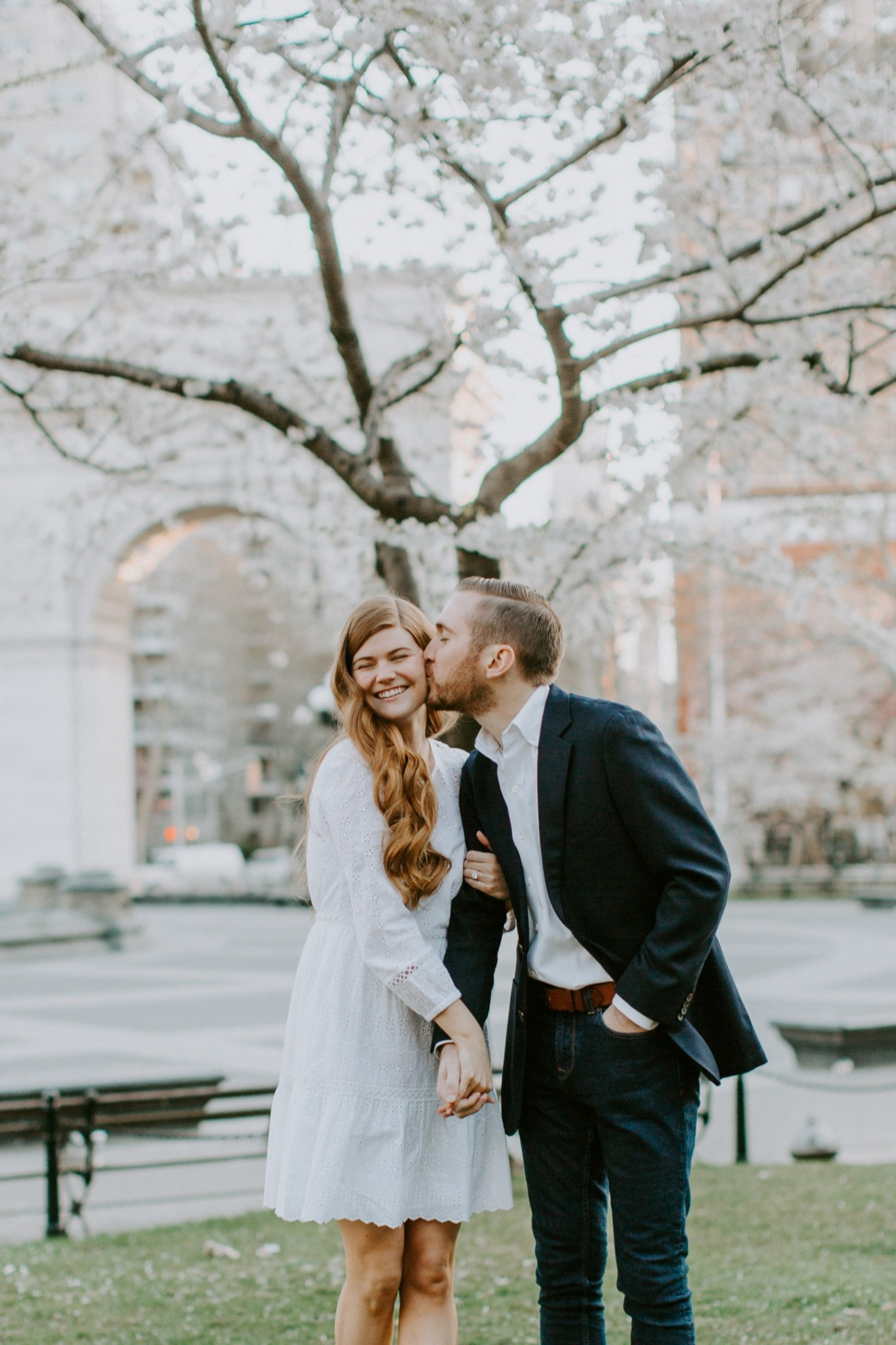 Mollie Moore shares a few engagement photos shot in NYC  | Top London and US life and style blogger, Mollie Moore shares her 2018 year in review: engagement pictures shot in NYC