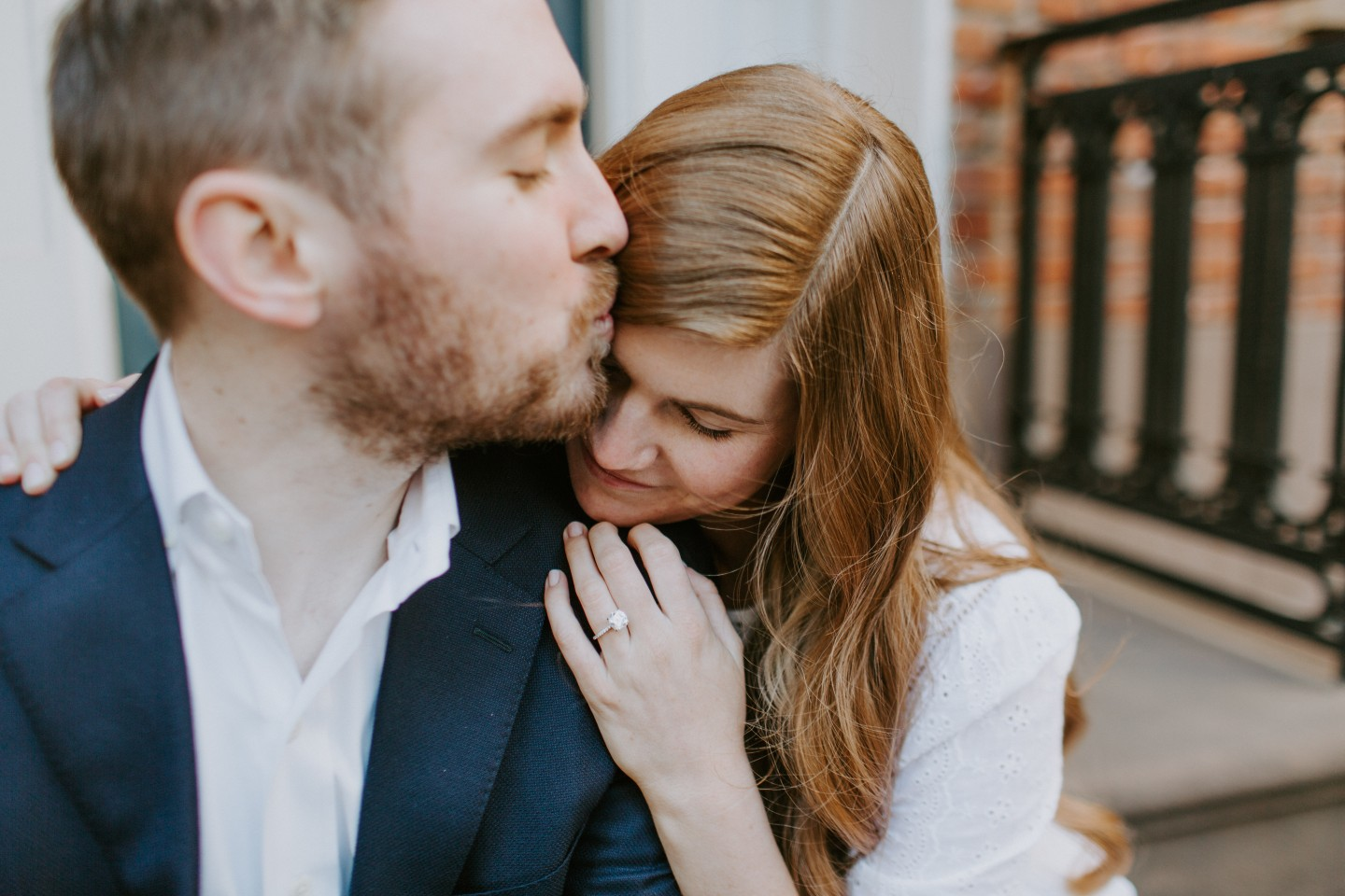 Popular London life and style blogger, Mollie Moore, shares a few engagement photos shot in NYC