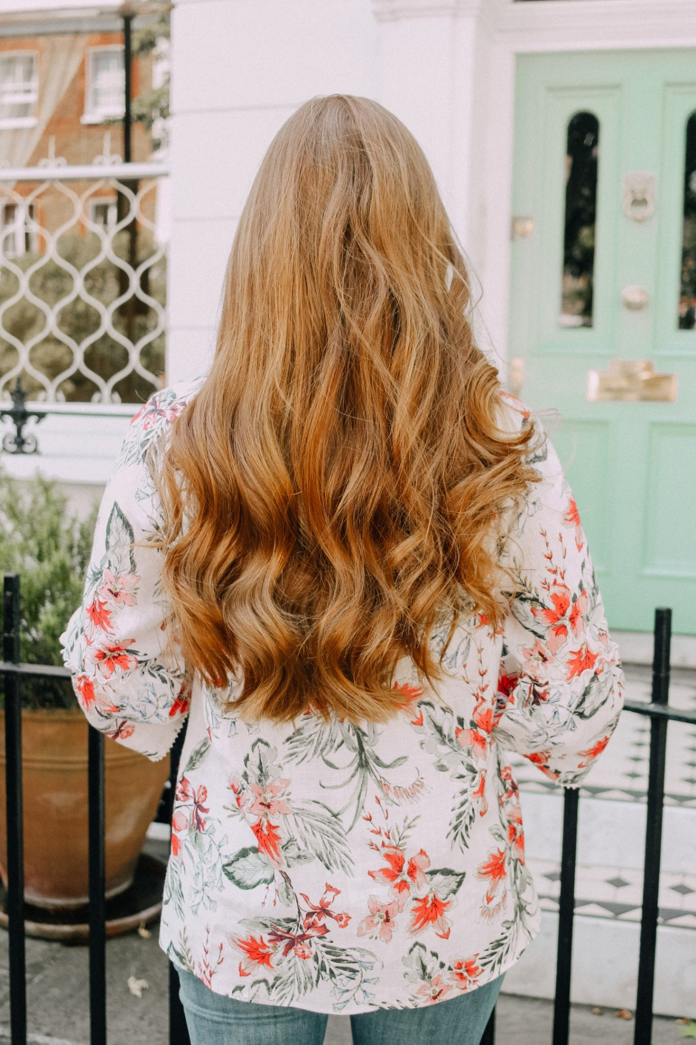 Lifestyle blogger Mollie Moore shares 7 tips on how to protect your hair against hard water