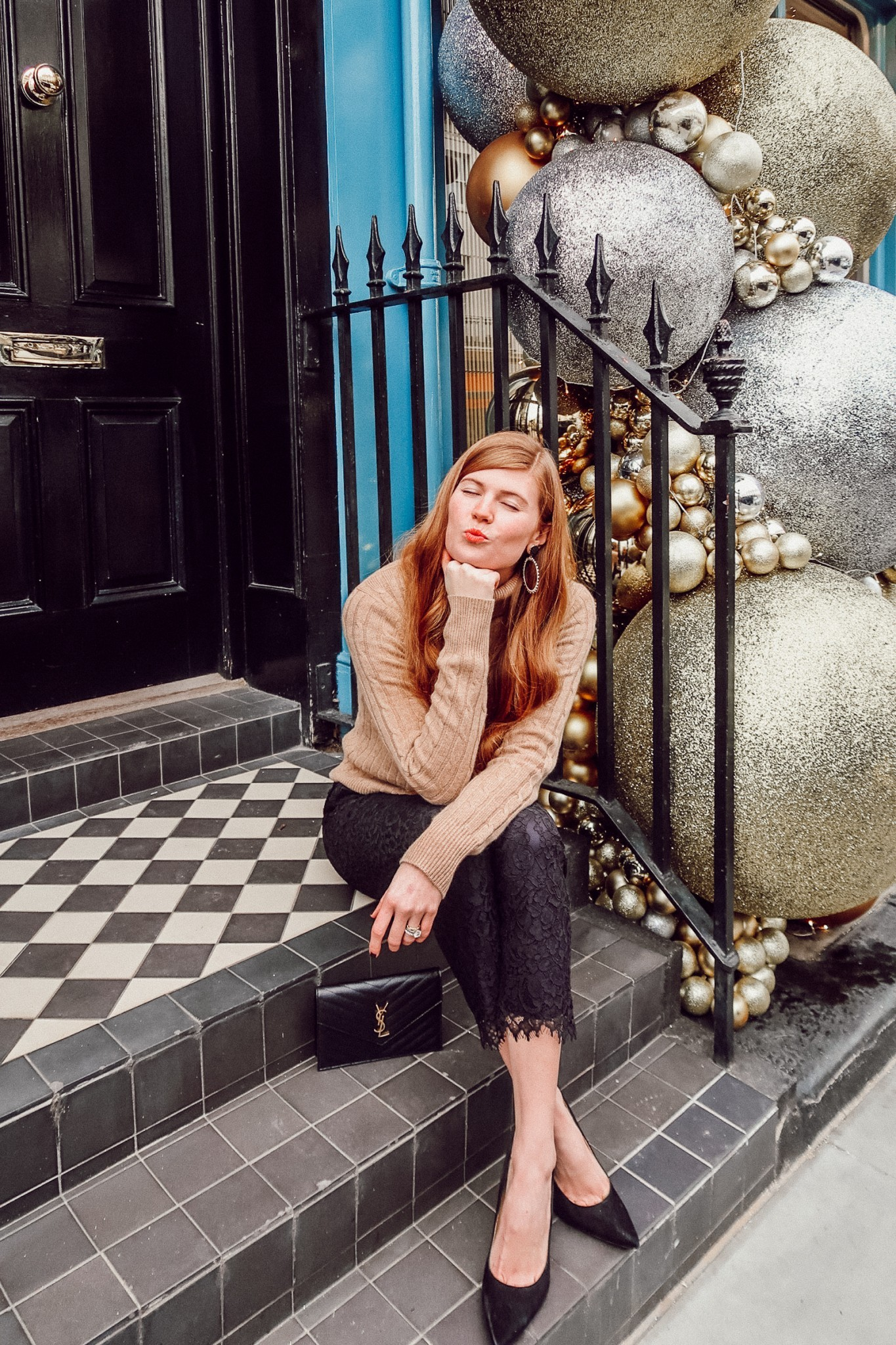 Vineyard Vines | The Ultimate Work to Holiday Party Outfit Idea featured by top London fashion blogger Mollie Moore