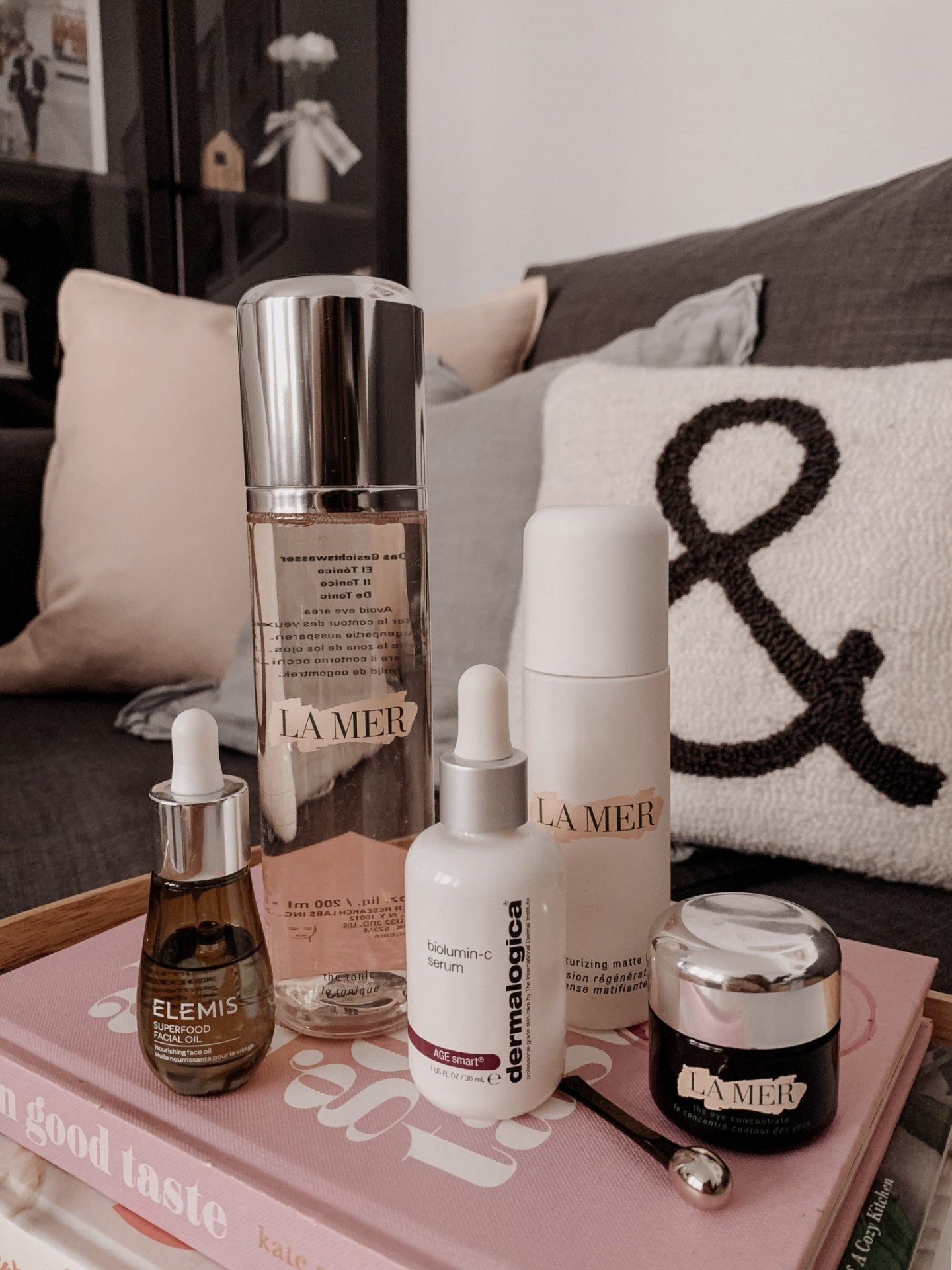 Morning Skincare Routine featured by top life and style blogger Mollie Moore