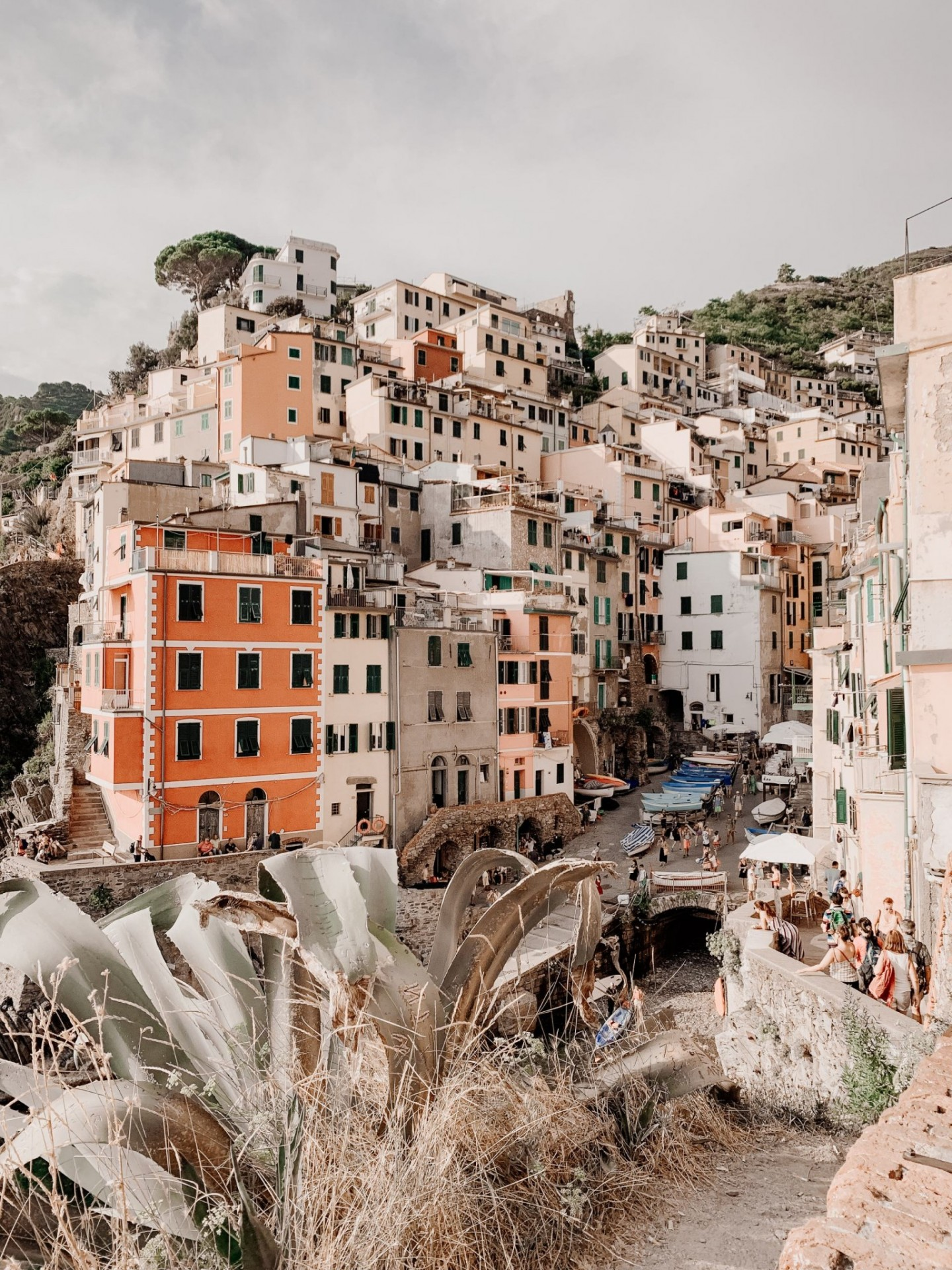 Lifestyle blogger Mollie Moore shares a Cinque Terre travel guide | Travel Guide: Things to do in Cinque Terre, Italy by popular London travel blogger, Mollie Moore: image of colorful buildings in Cinque Terre, Italy.