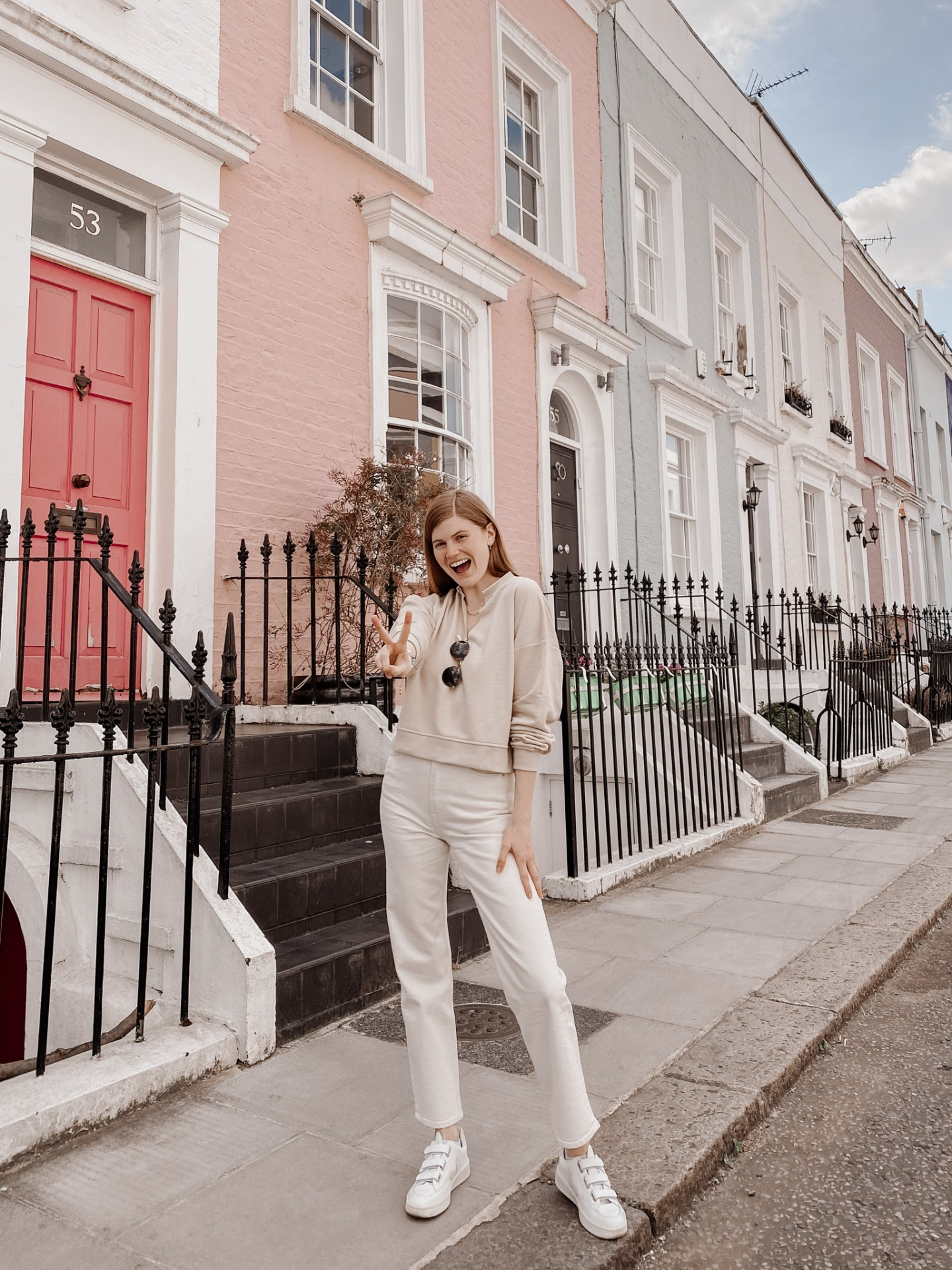 Lifestyle blogger Mollie Moore celebrates two years of living in London